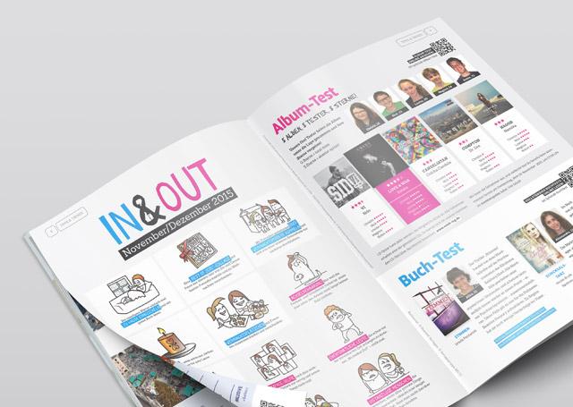 Sparkasse SClub Magazin Redesign