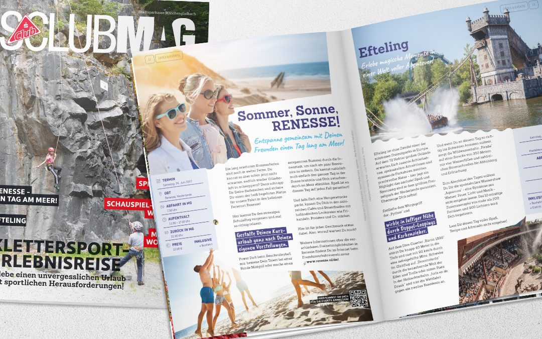SClub Magazin Mai / Juni 2017