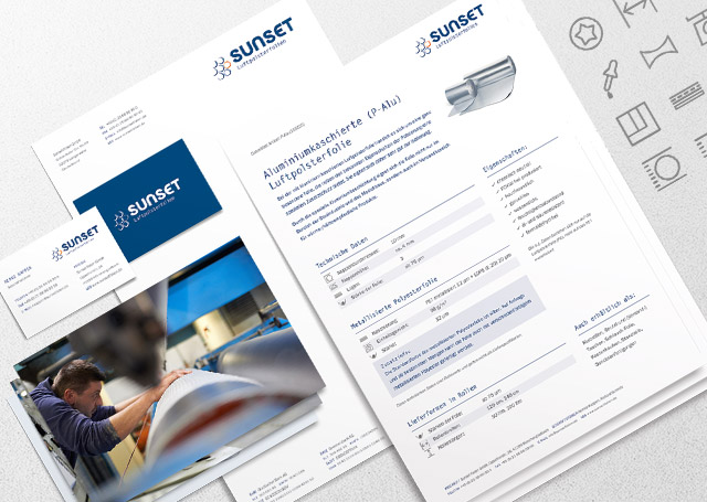 Sunset Corporate Design