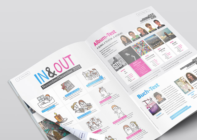 Sparkasse SClub Magazin Redesign