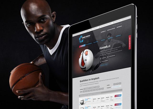 Comet Sports Website