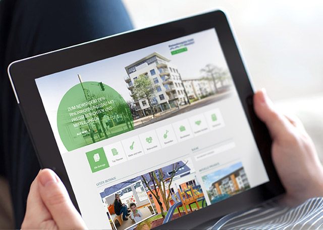 Rheinwohnungsbau GmbH Online Magazin