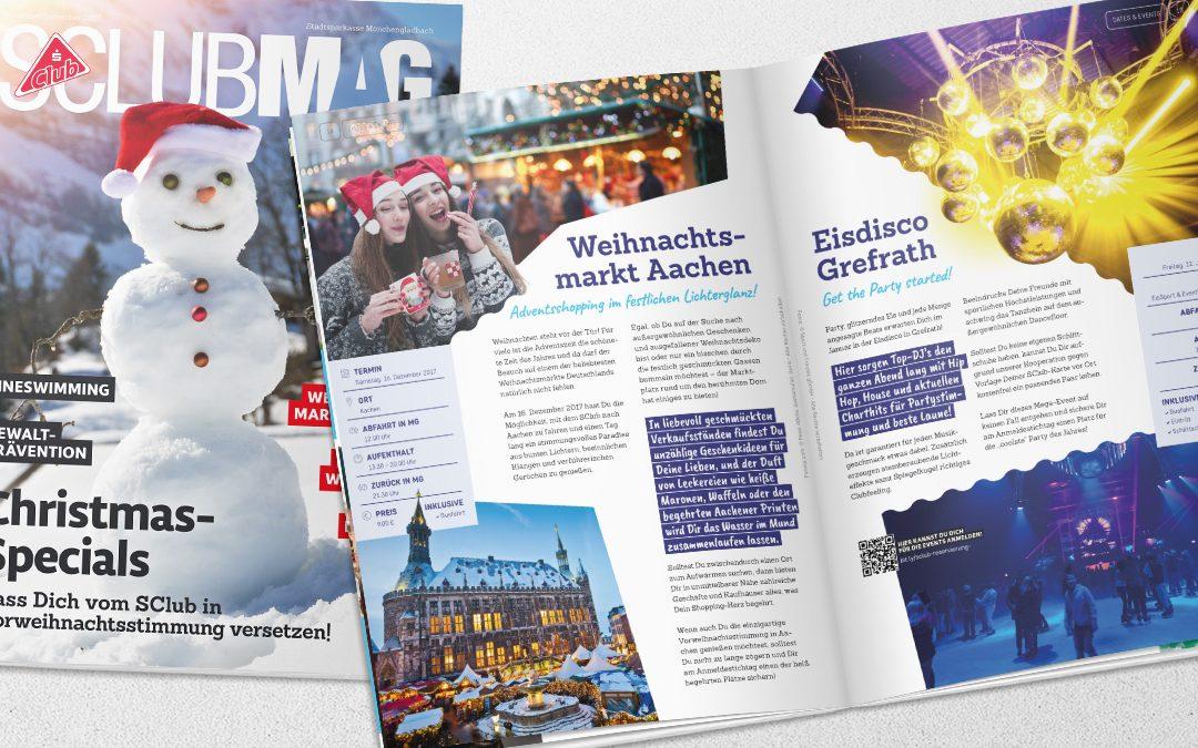 SClub Magazin November / Dezember 2017