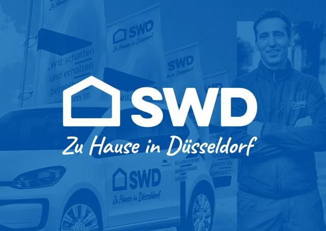 Corporate Design für die SWD Städt. Wohnungsgesellschaft Düsseldorf AG