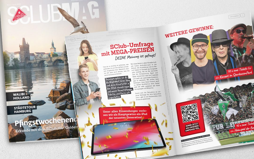 SClub Magazin März / April 2020